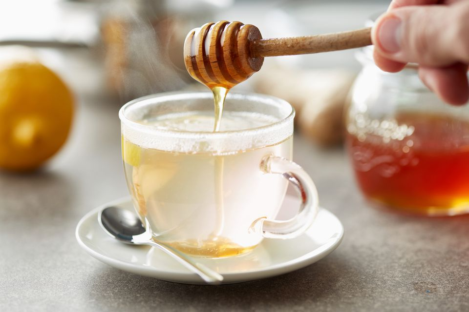 Warm and Soothing Homemade Ginger Tea
