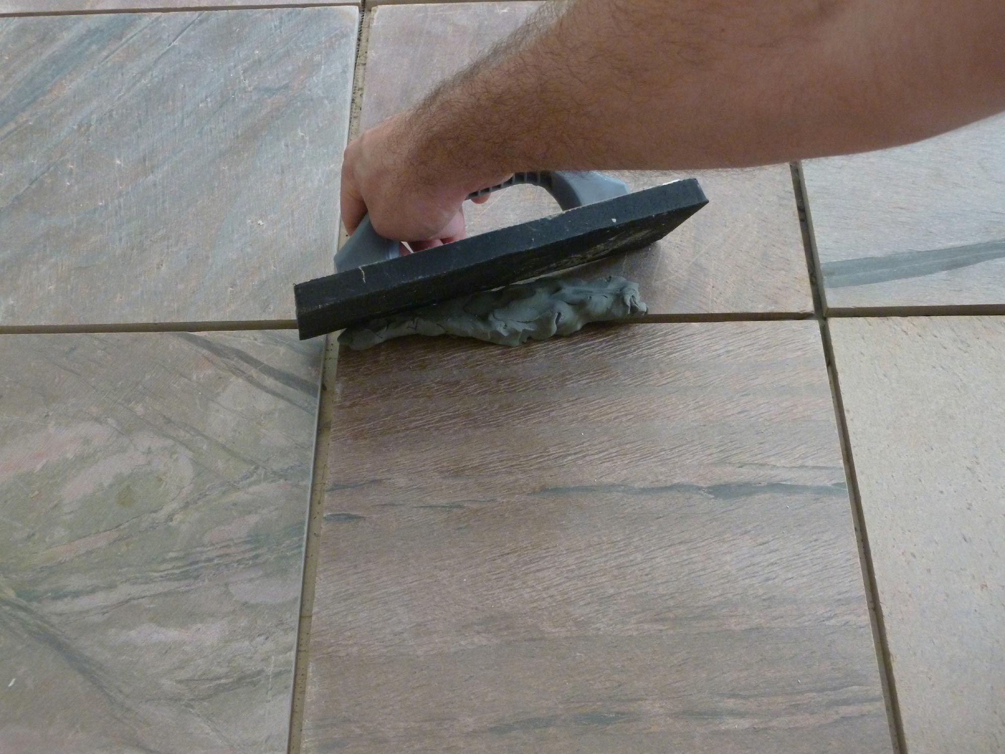 Installing slate tile step by step doublecrazyfo Image collections
