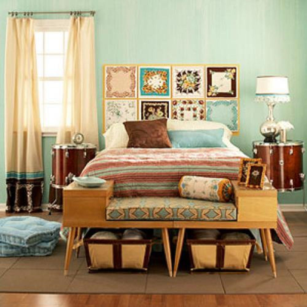 1950s bedroom furniture.  Vintage Bedroom Decorating Ideas and Photos