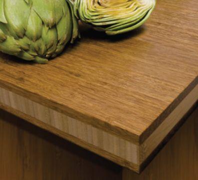 Bamboo Kitchen Countertops