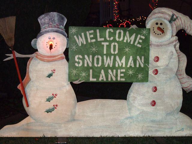 Santa Rosa Christmas Display