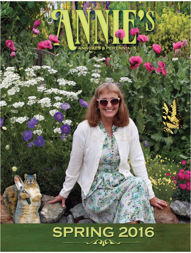 Screenshot of Annie's Annuals and Perennials plant catalog