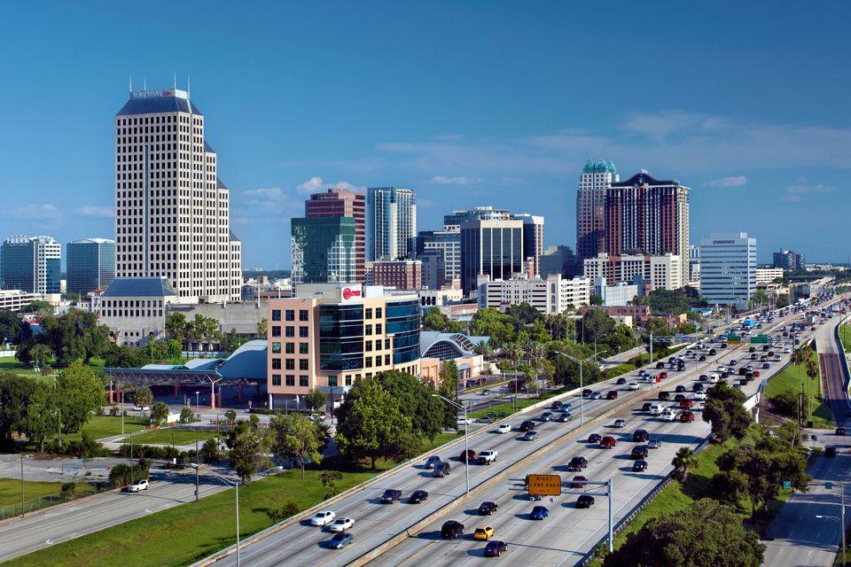 Orlando I 4 Exits Interstate 4 Florida