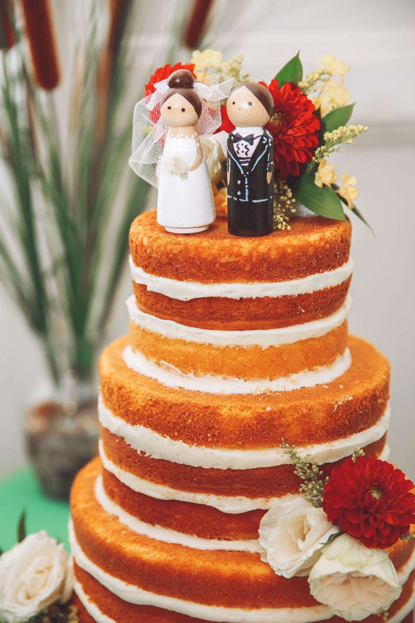 10 Real DIY Wedding Cakes Inspiring Tales Of Amateurs Making