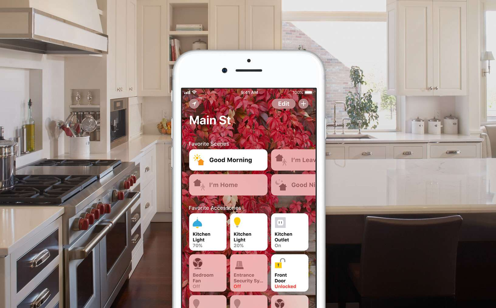 Apple HomeKit Kitchen Scene