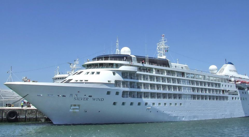 Silver Wind at the Dock in Cape Town, South Africa
