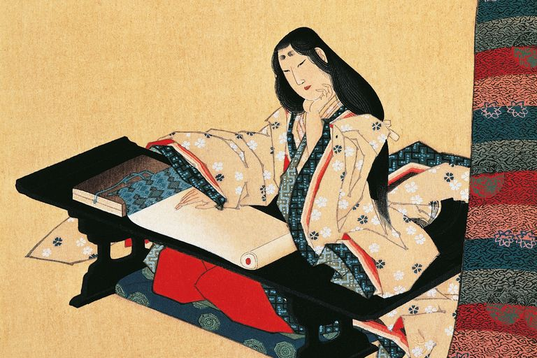 murasaki shikibu Murasaki shikibu is credited with writing the first novel in the world, based on her years as an attendant in the japanese imperial court.