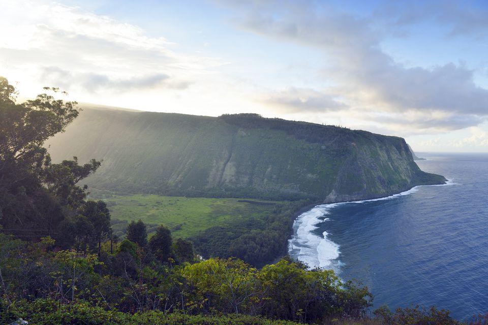 The beautiful mountains of Hawaii.