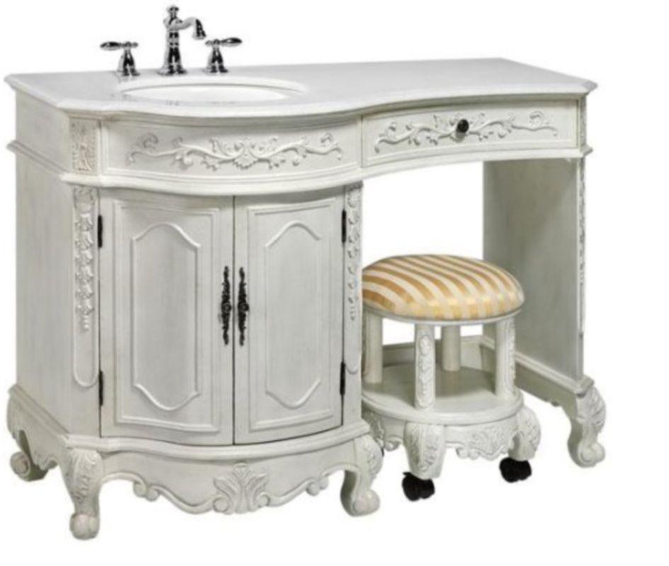 Bathroom Vanities That Look Like Antique Furniture