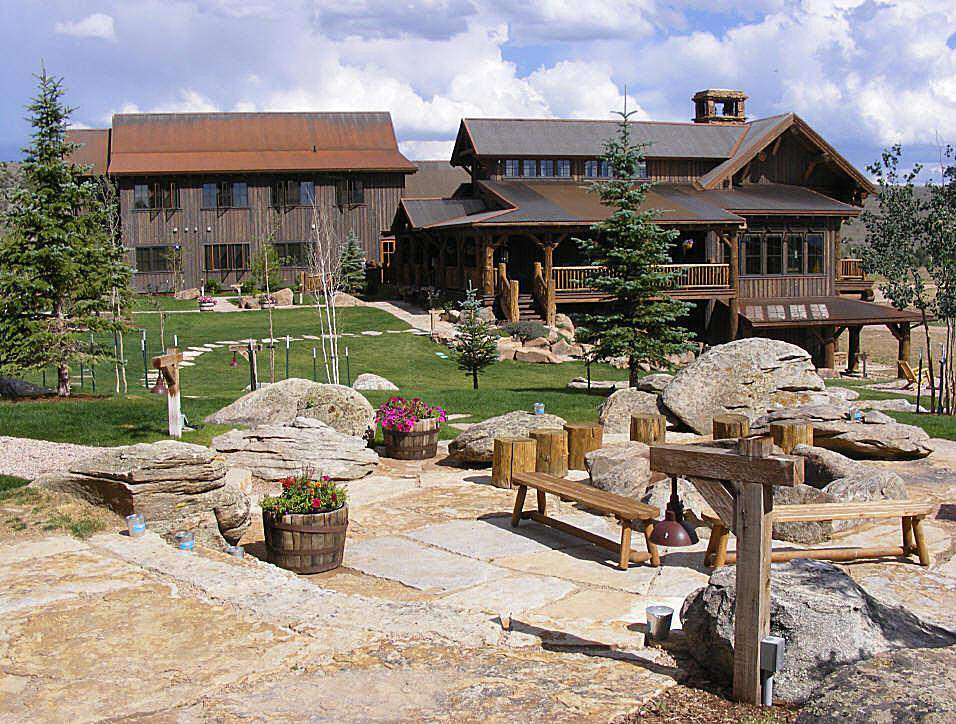 The Lodge and Spa at Brush Creek Ranch. Photo courtesy of Tony Conboy III.