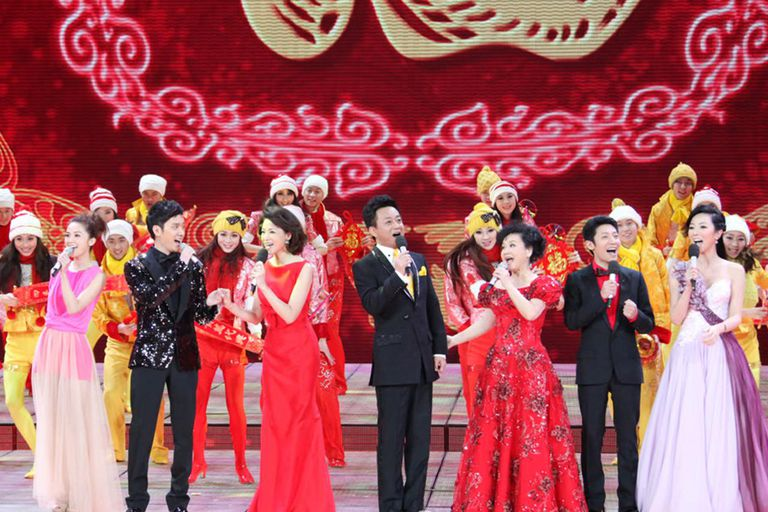 Chinese New Year on CCTV
