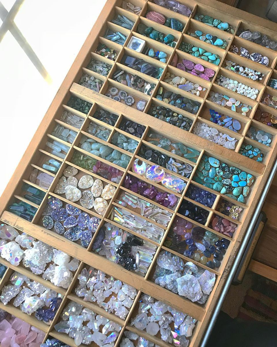 What to use letterpress drawers and printer trays for