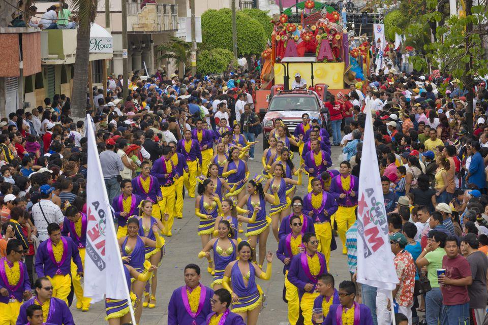 Carnival Parade in Veracruz