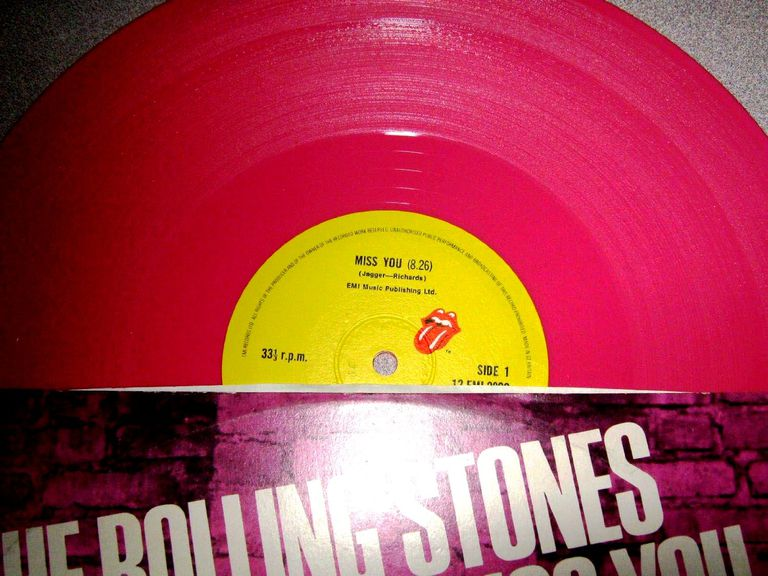"The Rolling Stones' ""Miss You"" 12 inch"