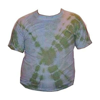 How to Make Tie-Dyed Circles