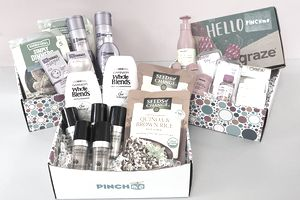 A free sample box from PINCHme