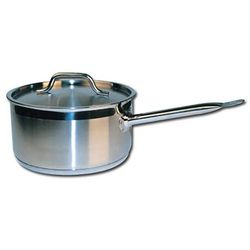Winware Stainless Steel 2 Quart Sauce Pan with Cover