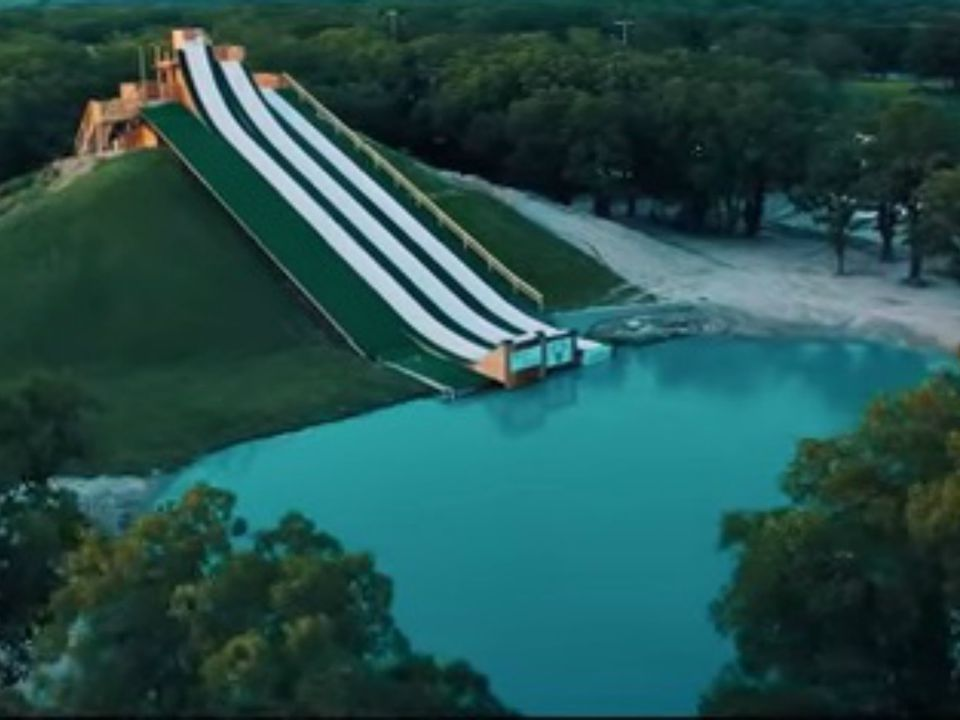 Royal Flush Water Slide and Jump in Waco, Texas