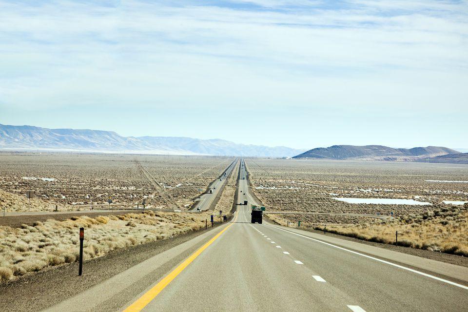 Interstate 80 Reno to Salt Lake City USA