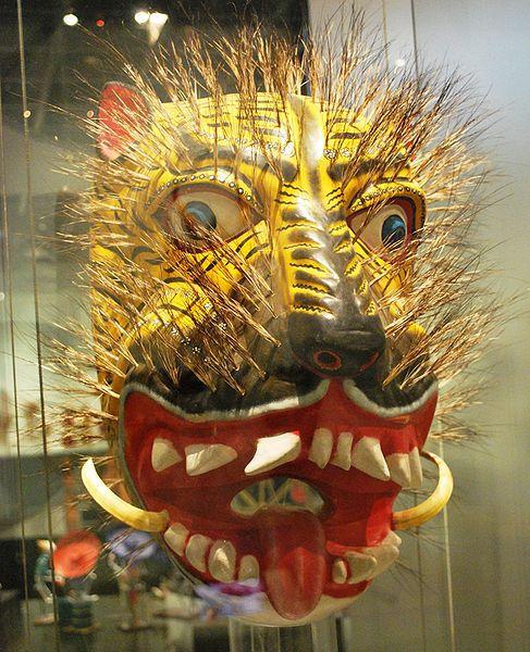 Máscara de tigre del estado de Guerrero