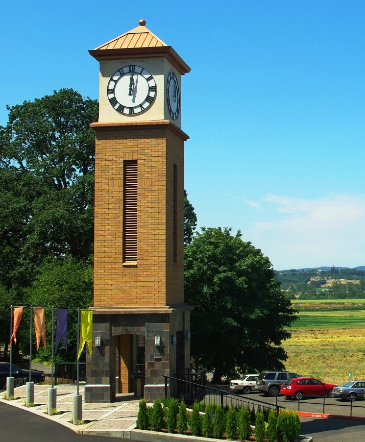 Corban University Clock Tower