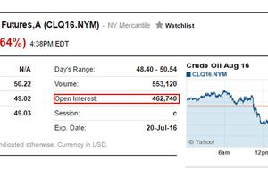 Stock options open interest definition
