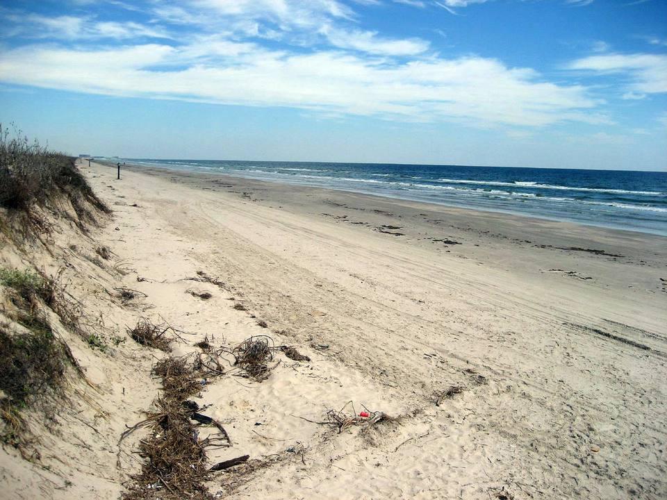 Port Aransas Beach in Texas