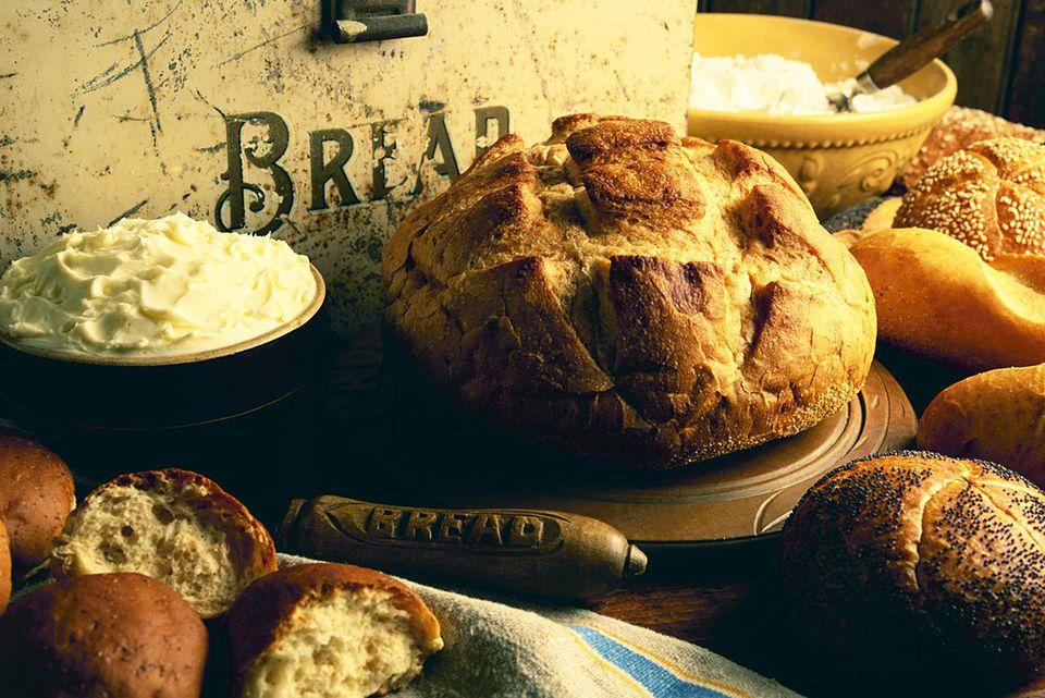 Bread and Bread Box