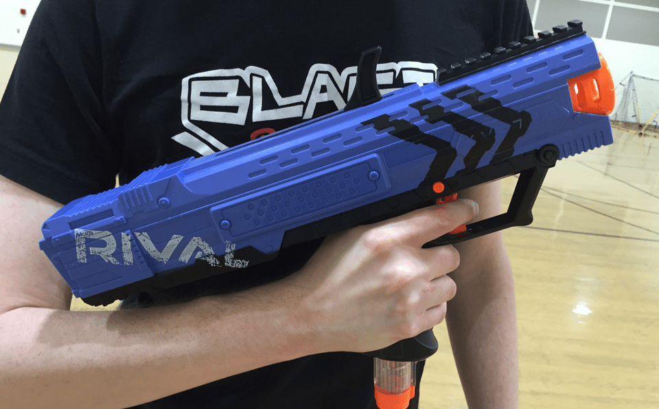 The newest Nerf gun goes simple, small, and satisfying. This gun may look  tiny …