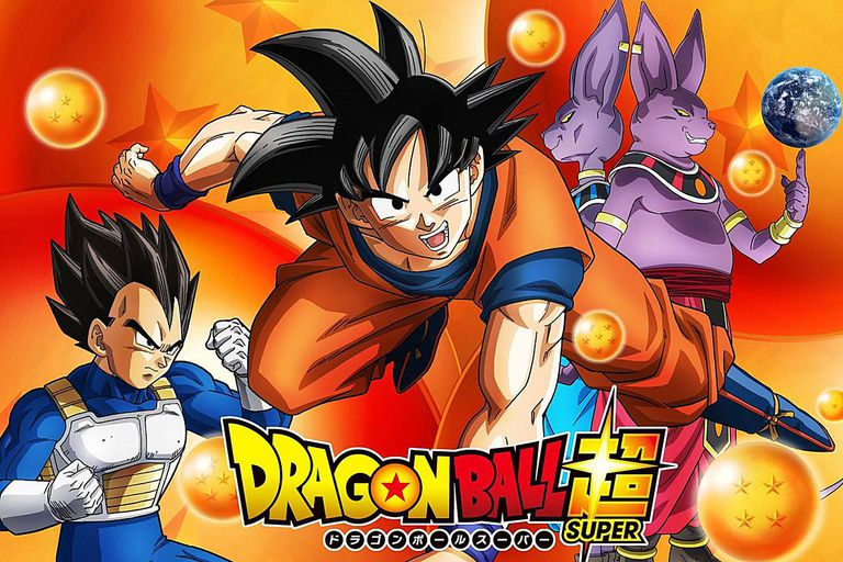 Dragon Ball Cho / Super Anime Image with Vegeta, Goku and Beerus
