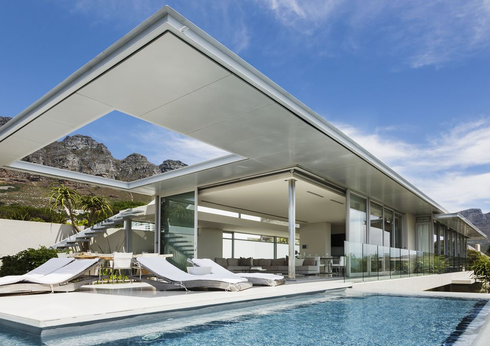 modern pool designs. Modern Pool In Desert Designs H