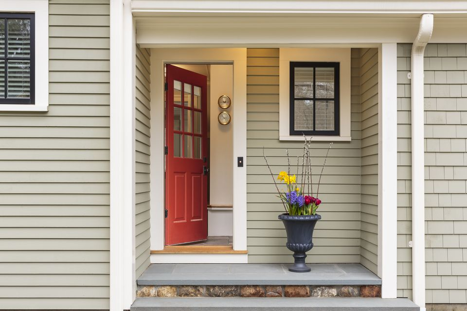 Door Color choose your best feng shui front door color