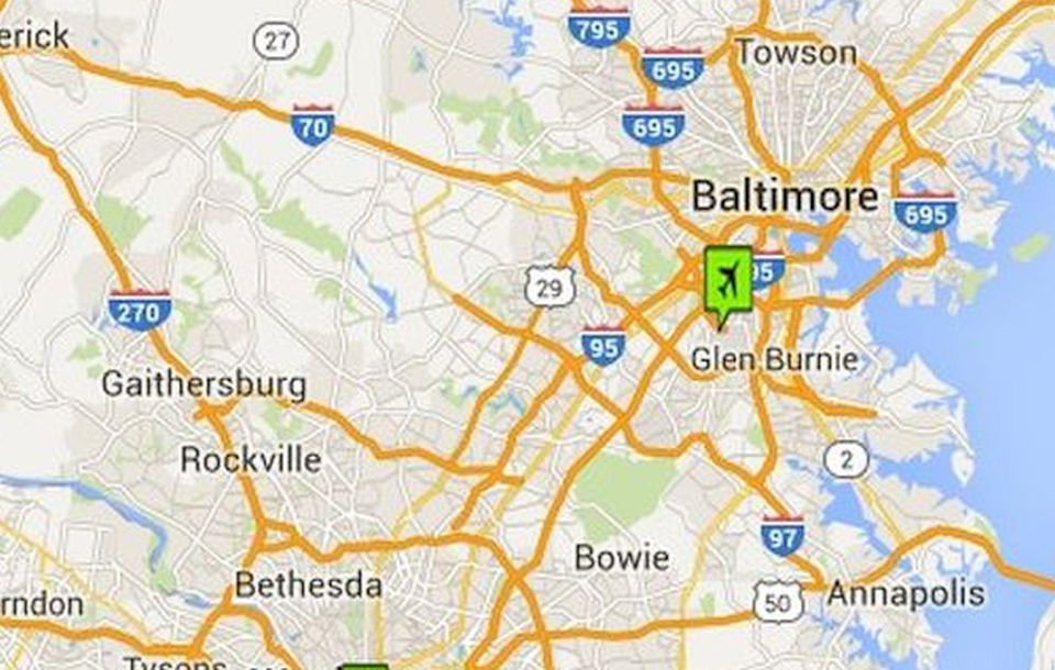 Washington dc airports maps and directions baltimore washington international airport map gumiabroncs