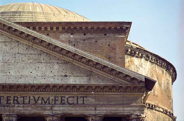 Details of the Pantheon, Rome