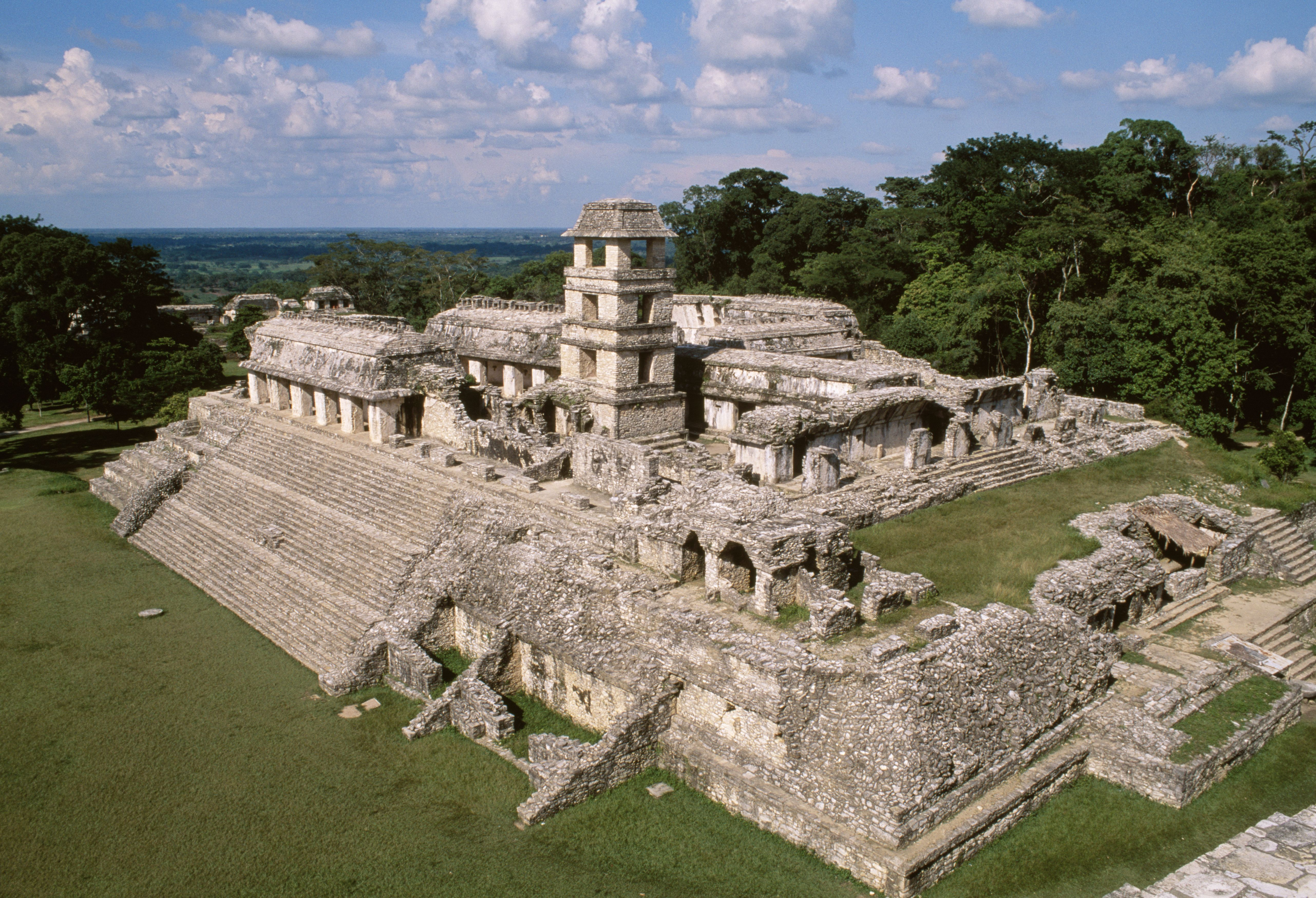 The Palace Of Palenque Was Pakal Greats Intricate Maze