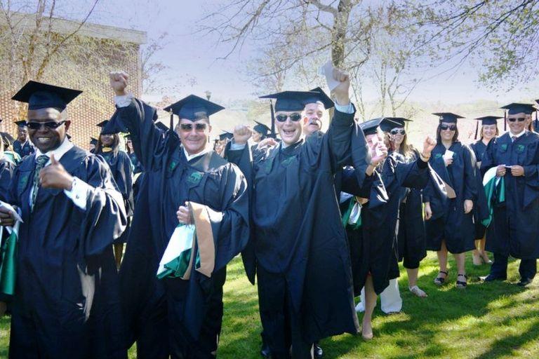 Post University Graduation