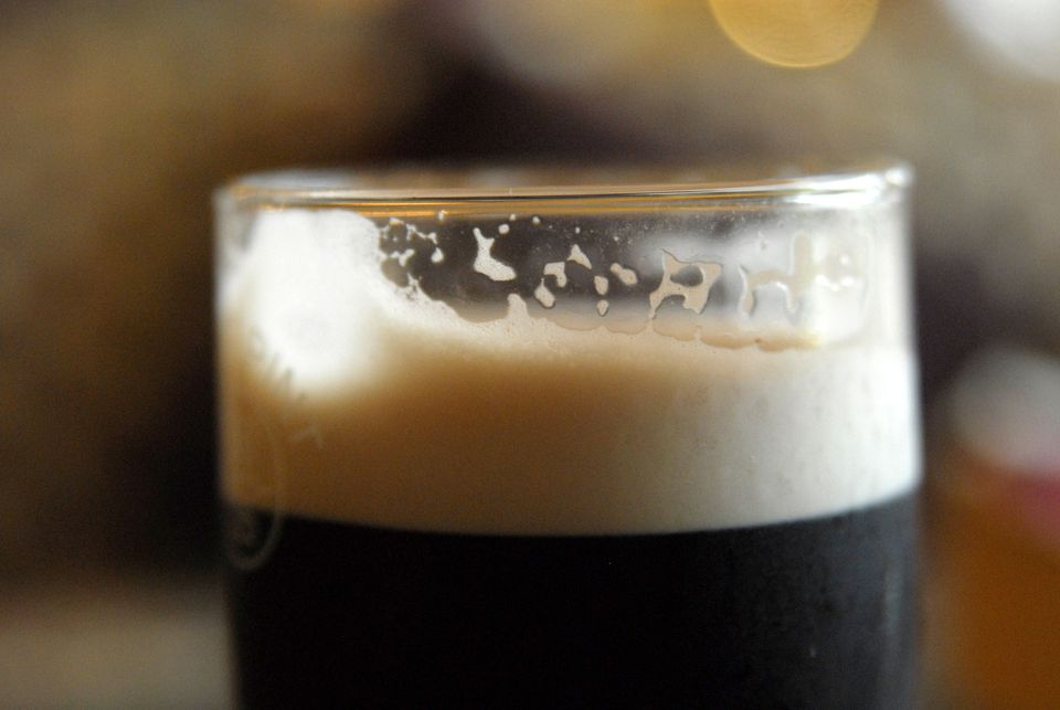 Guinness beer close-up
