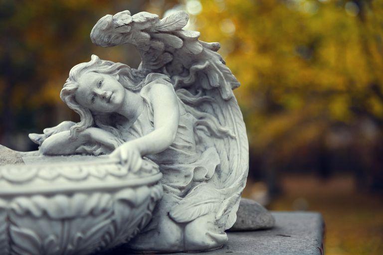 Angel Lawn Sculpture