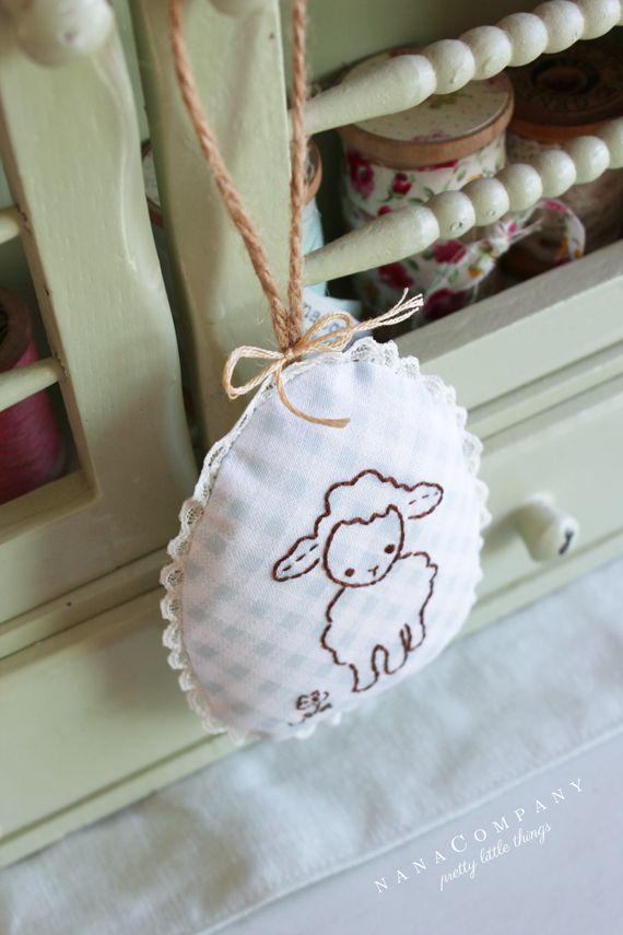 Lavender Lamb Sachet