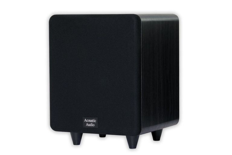Acoustic Audio CS-PS65-B Front Firing Subwoofer (Black)