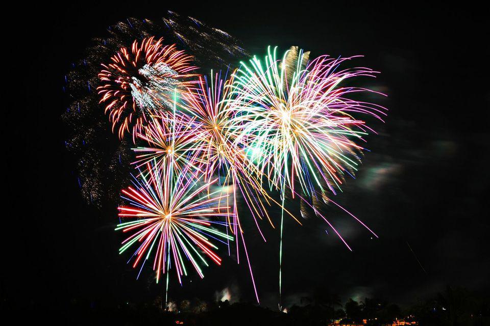 Ala Moana Beach Park Fireworks