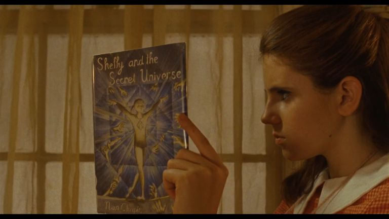 """Suzy reading """"Shelly and the Secret Universe"""""""