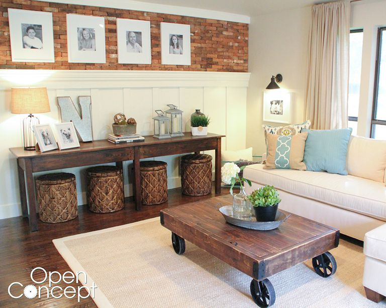 living room wood furniture. A coffee table with wheels in a living room  19 Free Coffee Table Plans You Can DIY Today