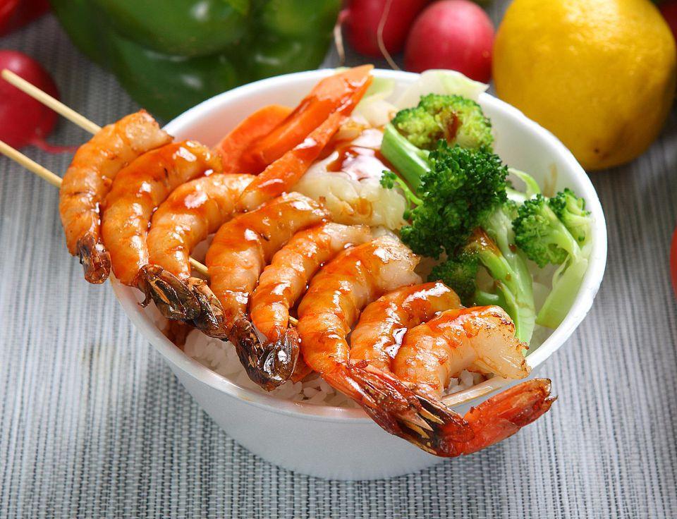 Teriyaki Shrimp