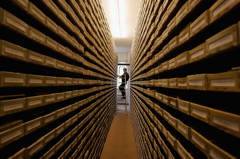 ITS Holocaust Archive in Bad Arolsen