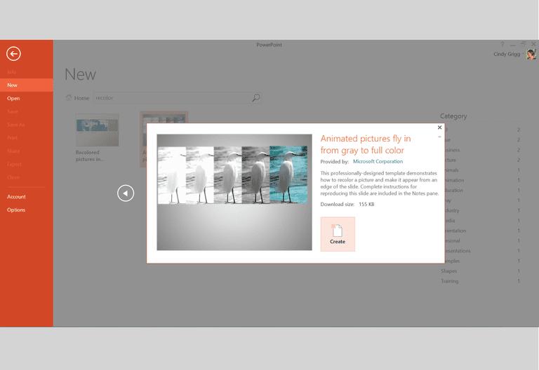 template microsoft powerpoint