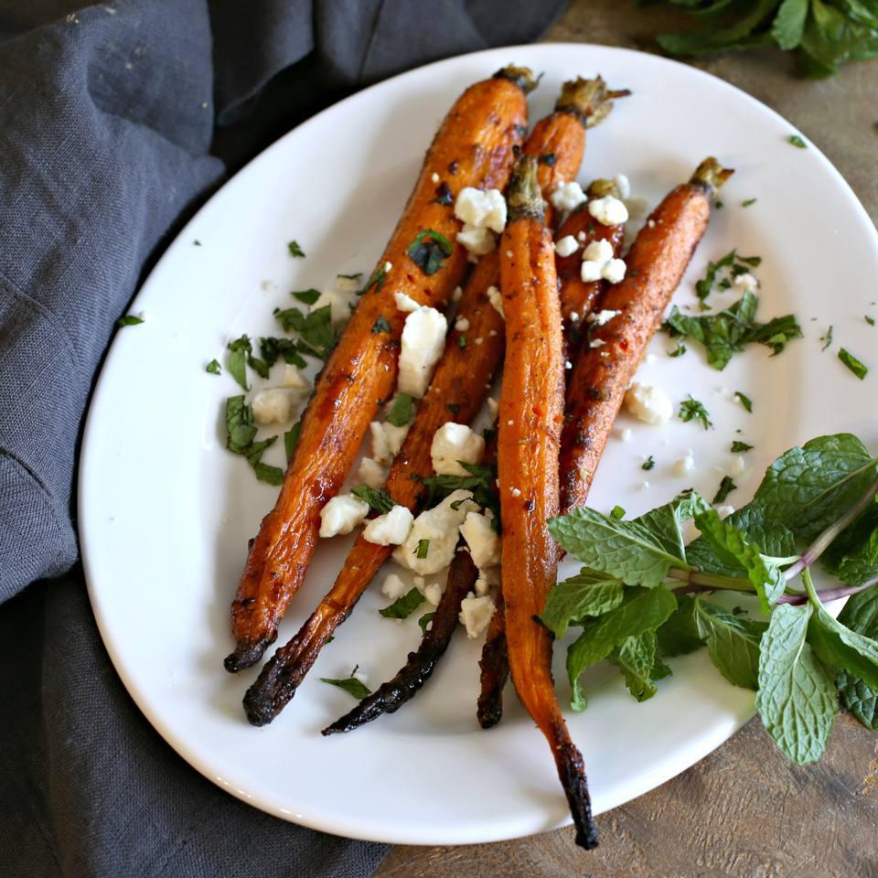 Honey Glazed Moroccan Carrots