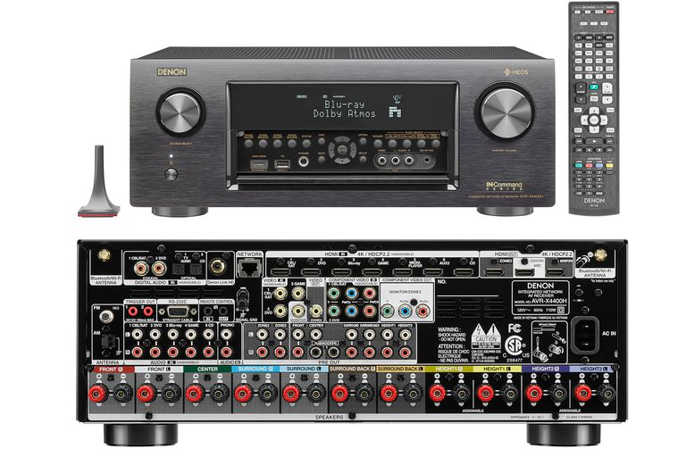 Auro 3d audio surround sound format basics denon avr x4400h 92 channel home theater receiver sciox Choice Image