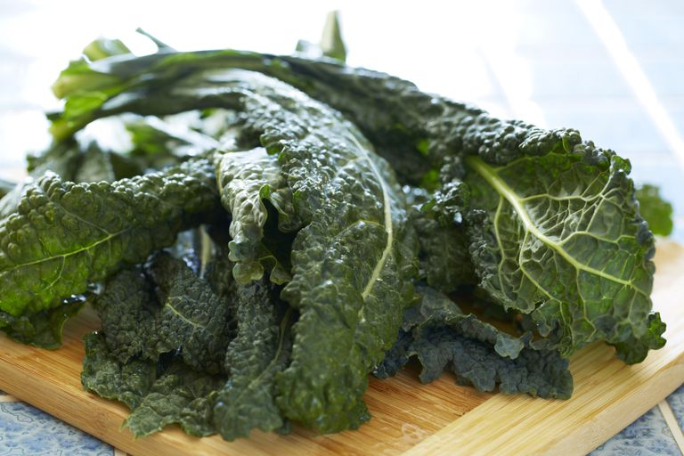 Kale is is rich in nutrients and fiber.