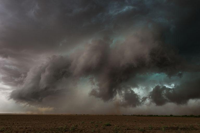 Tornado touches down. Patricia, Texas, USA